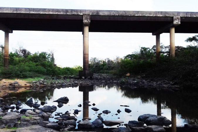 Seca no Rio Parauapebas Foto: Jorge Clésio / Portal Canaã