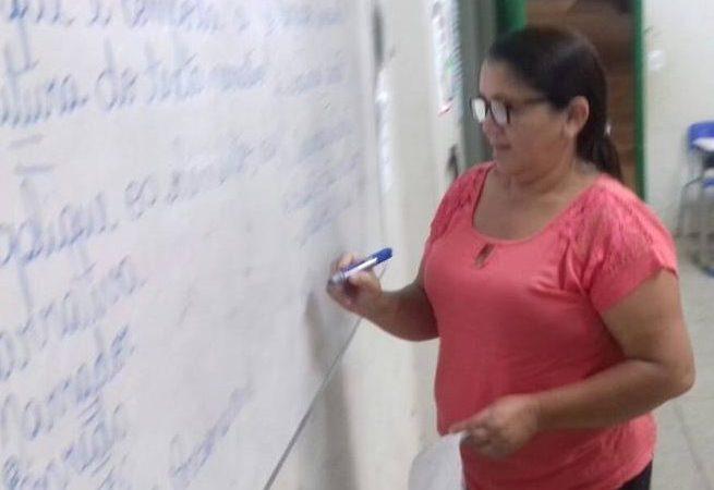 Professora Eva Monteiro Foto: Jorge Clésio