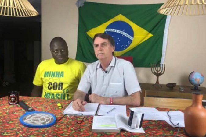 Foto: Reprodução/Instagram Bolsonaro
