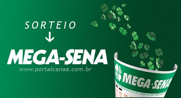 Sorteio da Mega Sena / Arte: Portal Canaã