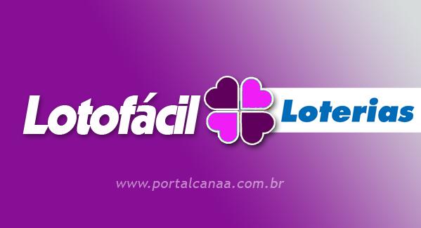 Resultado da lotofácil / Arte: Portal Canaã