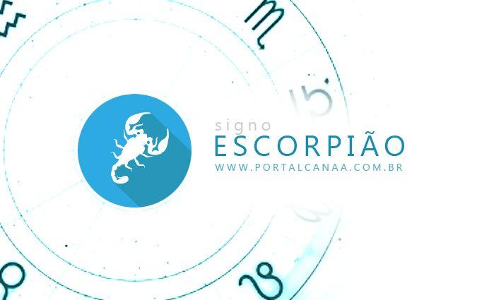 Signo de Escorpião Foto: Arte Portal Canaã