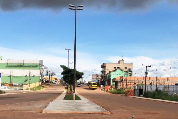 Entrada de Canaã dos Carajás | Foto: Jorge Clésio