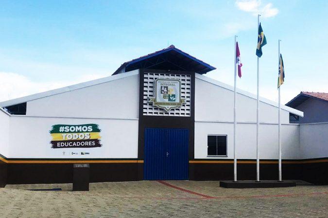 Escola Ronilton Aridal da Silva - Escola Militar | Foto: Seny Lima I Portal Canaã