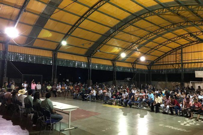 Vale é recebida pela comunidade Vila Bom Jesus, em Canaã dos Carajás