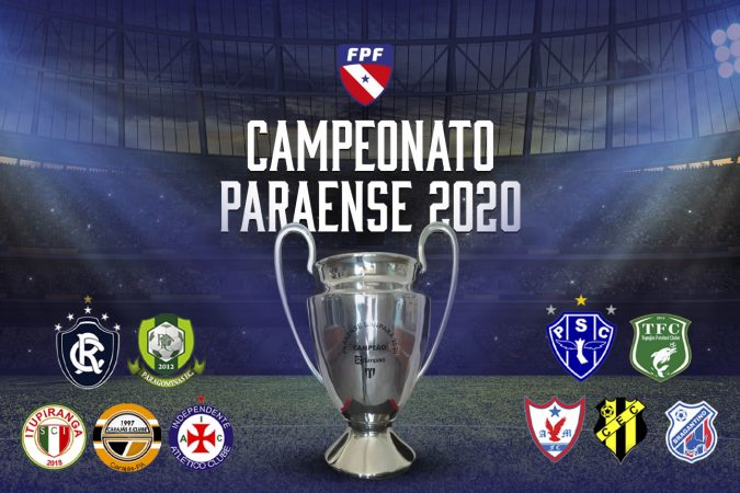 Resultado de imagem para FUTEBOL - PARÁ - CAMPEONATO PARAENSE 2020 -  LOGOS