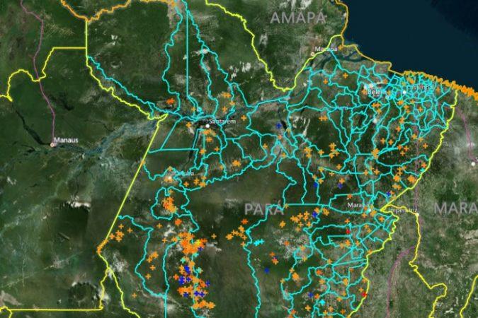 Queimadas no Pará