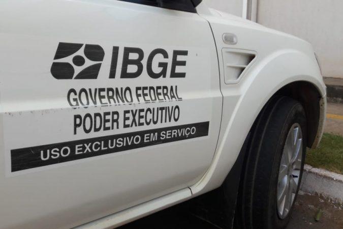 IBGE em Canaã dos Carajás Foto: Jorge Clésio