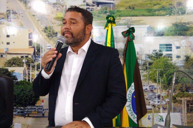 Vereador Anderson Mendes / Foto: CMCC