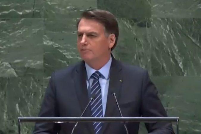 Bolsonaro na ONU - completo