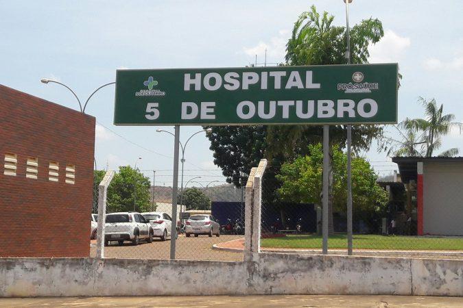 Hospital 5 de Outubro | Foto: Jorge Clésio
