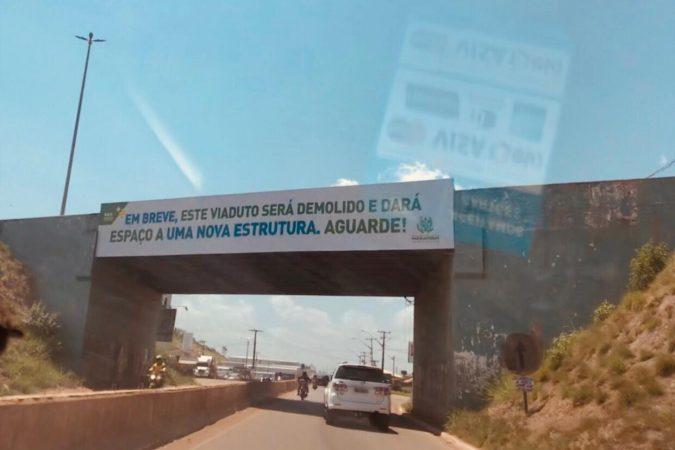Viaduto de Parauapebas Foto: Seny Lima