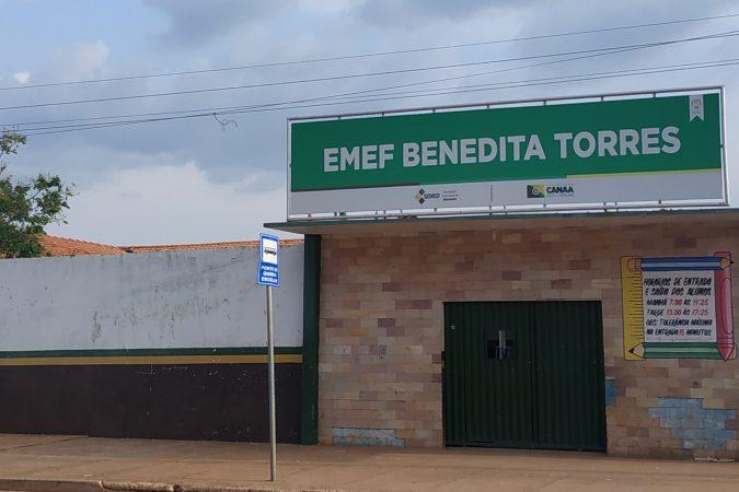 Escola Benedita Torres / Foto: Portal Canaã