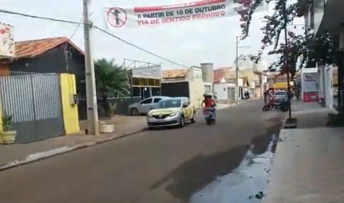 Algumas ruas de Canaã dos Carajás terão sentidos alterados