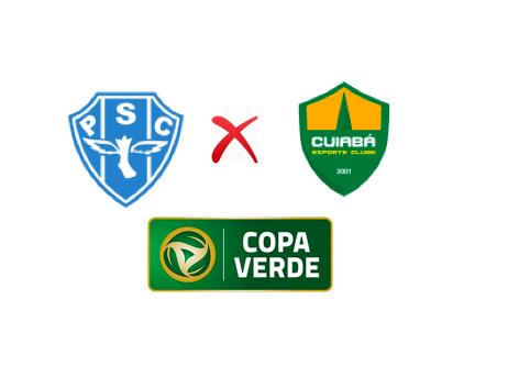 Final da Copa Verde 2019 entre Paysandu x Cuiabá Arte: Portal Canaã