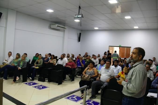 Durante a rodada, empresário locais puderam apresentar seus produtos e serviços para terceirizadas Vale e para todos os presentes