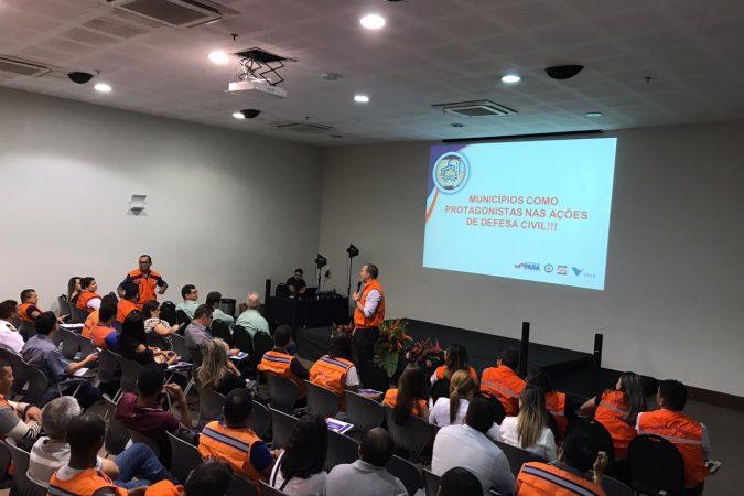 Defesa Civil realiza workshop com o apoio da Vale Foto: Vale/Divulgação