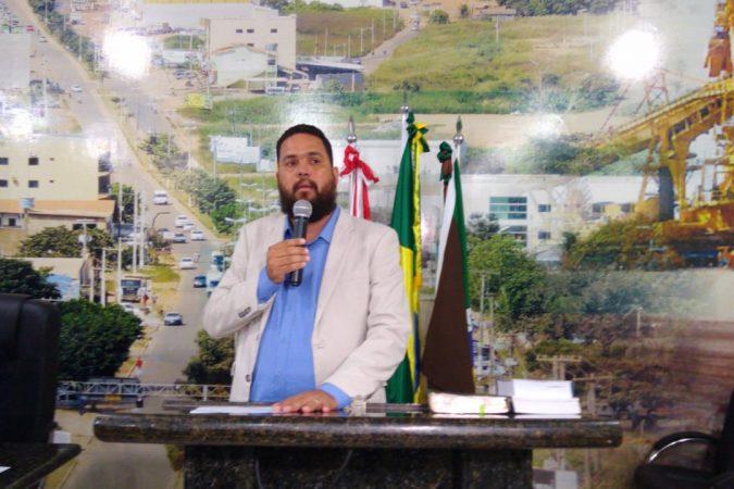 Vereador Junior Garra / Dilvugação/CMC