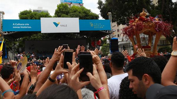 Círio de Nazaré reuniu dois milhões de pessoas com o apoio da Vale