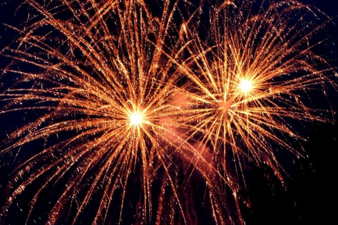 Fogos de Ano Novo / Pexels