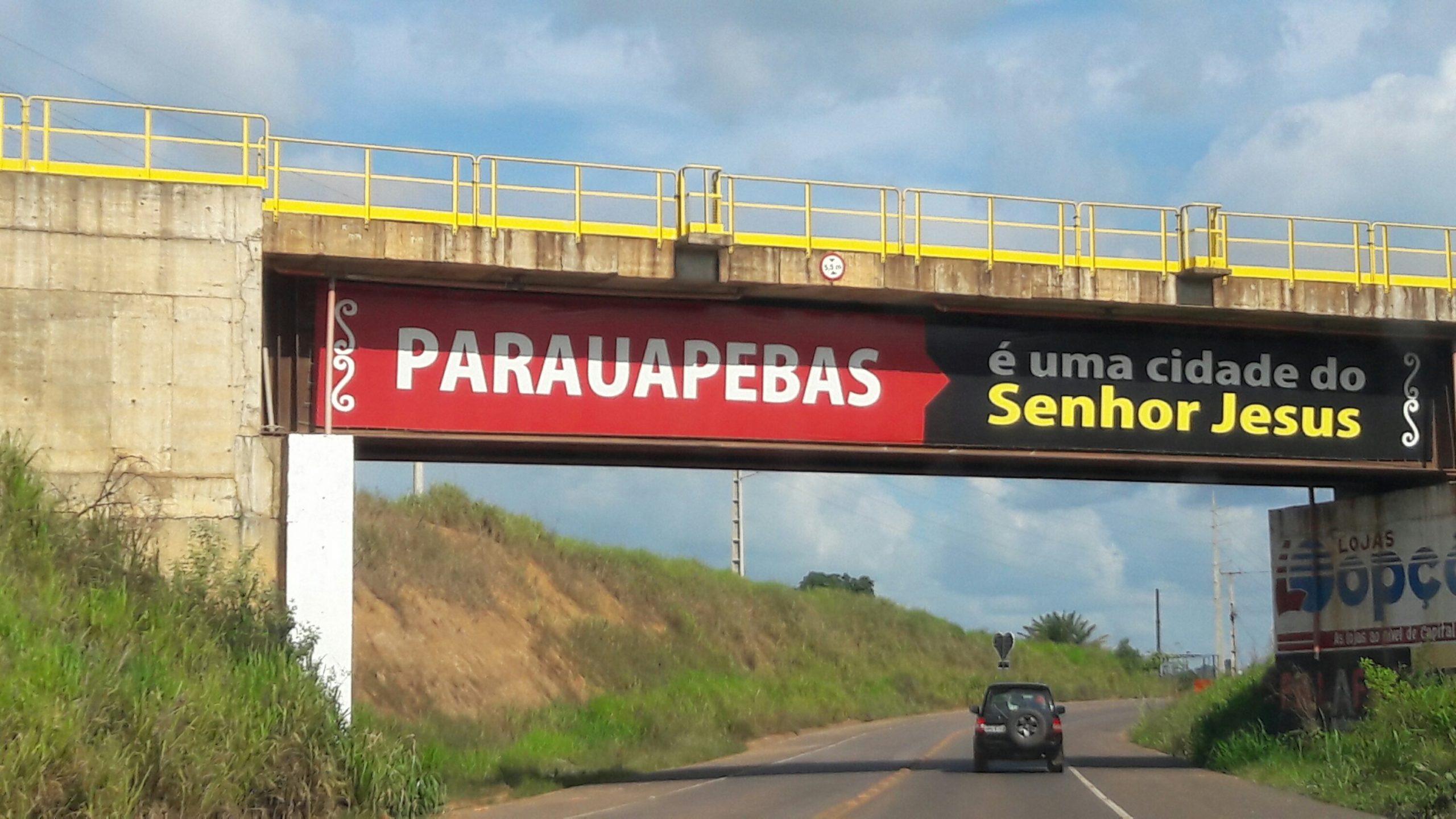 Entrada de Parauapebas/PA - Foto: Jorge Clésio