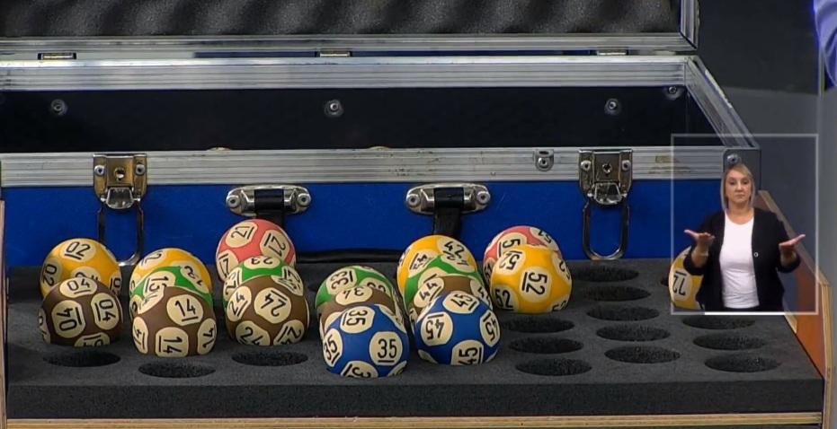 Sorteio das Loterias Caixa