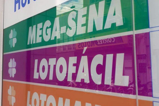 Quadro de Loterias em Lotérica de Imperatriz/MA / Foto: Portal Canaã