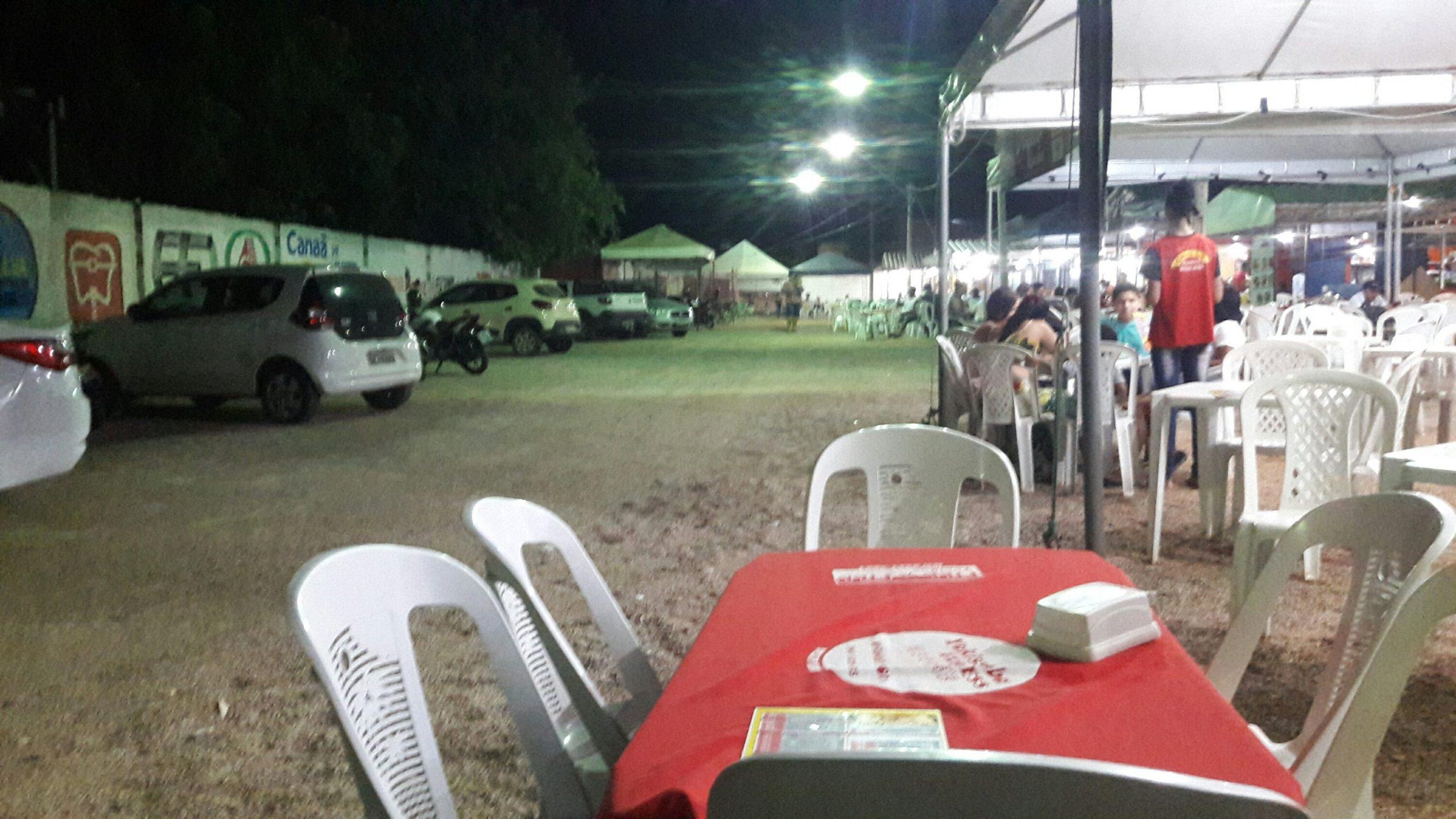 Praça de Alimentação de Canaã dos Carajás / Foto: Jorge Clésio