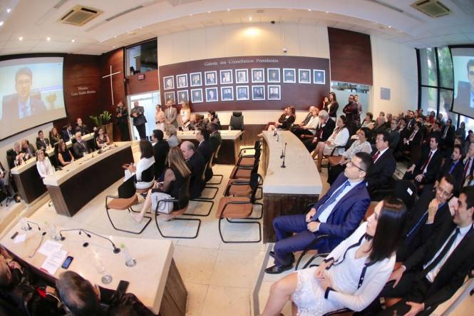 Alepa participa de cerimônia de posse do novo Procurador-Geral do MPC PA